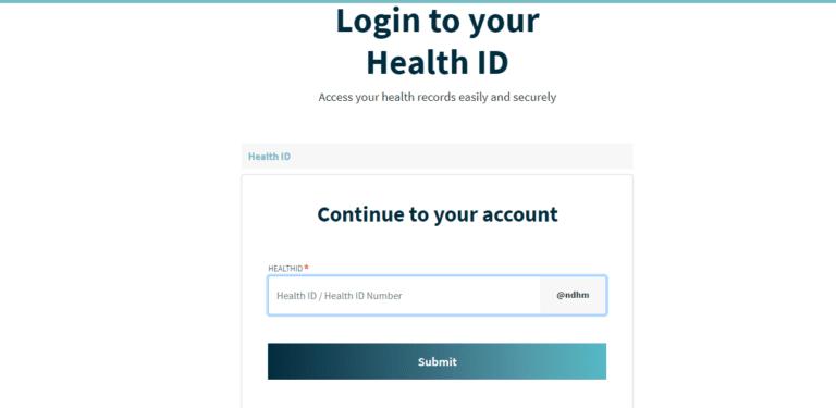 Health ID Card में कैसे लॉगिन कैसे करे