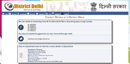Delhi Tirth Yatra Yojana Contact Information