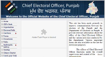 पंजाब मतदाता सूची में नाम देखने की प्रक्रिया (Punjab Voter List)