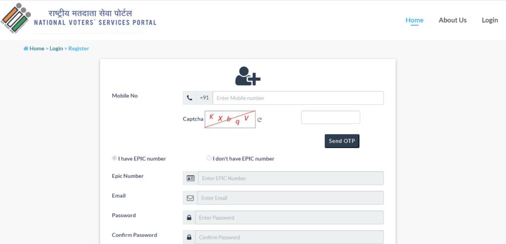 Online Register In NSVP Portal