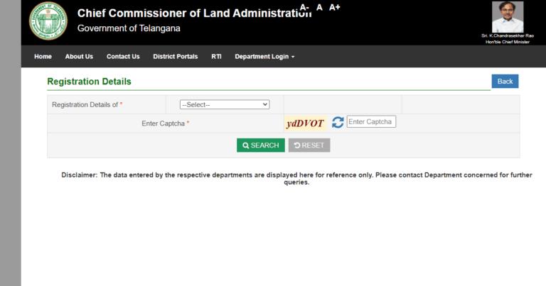 land transaction details