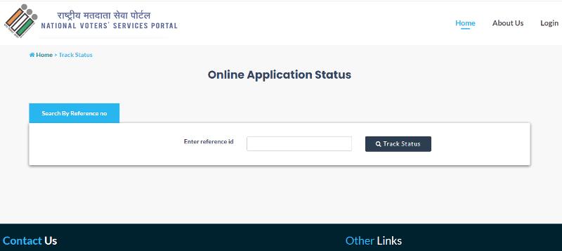 Voter ID Status Online