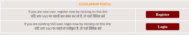 राजस्थान मुख्यमंत्री उच्च शिक्षा छात्रवृति योजना ऑनलाइन आवेदन प्रक्रिया