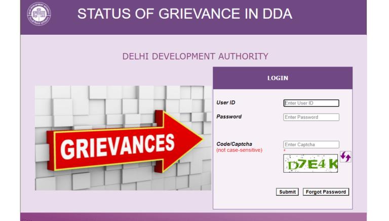 Grievance Status