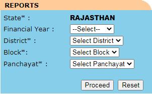 राजस्थान नरेगा जॉब कार्ड लिस्ट देखने की प्रक्रिया