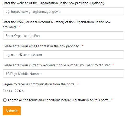 Employers Registration Process Under Punjab Ghar Ghar Rozgar Yojana