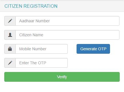 Process To Do Citizen Registration