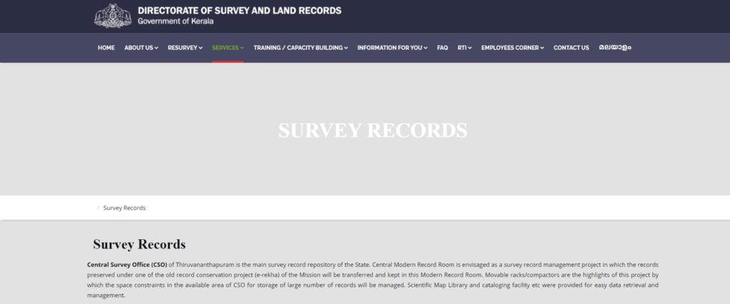 View Survey Records